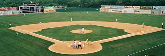 2007 Rickwood Classic at Rickwood Field. May 30, 2007 by Joshua Self