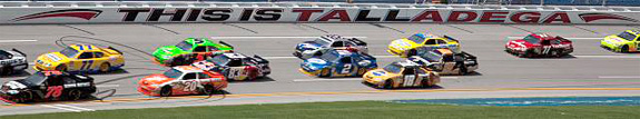 The 2010 Aaron's 499 race at the Talladega Superspeedway