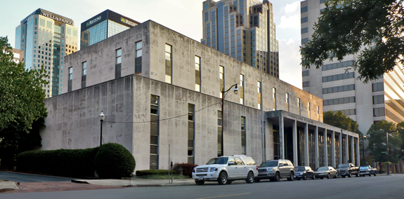 The Birmingham Board of Education Building in September 2010