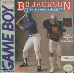 Bo Jackson's Hit and Run for the Game Boy portable video game system.
