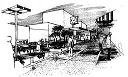 1970 rendering for Birmingham Green