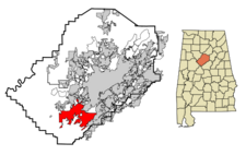 Bessemer locator map.png