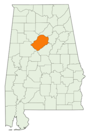 Location of Jefferson County