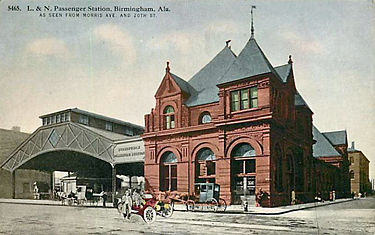 Postcard view of the L&N Station