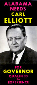 Flyer from Elliott's 1966 gubernatorial campaign
