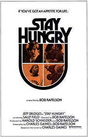 Poster for Stay Hungry (1976)