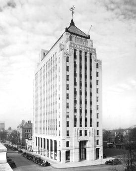 The Alabama Power Building in Birmingham