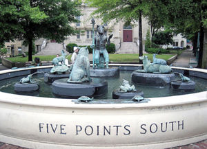 The Storyteller Fountain