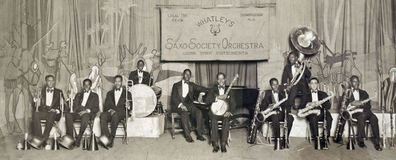 Driver with Whatley's Saxo Society Orchestra in the 1930s