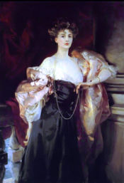 "John Singer Sargent's ""Portrait of Lady Helen Vincent, Viscountess D'Abernon"" (1904) was acquired by the museum in 1984"