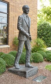 John Rhoden's statue of Fred Shuttlesworth (1992)