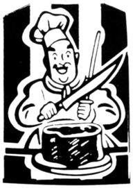 Stand N Snack chef logo.png