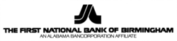 First National Bank of Birmingham logo.png
