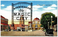 The Magic City sign, demolished in 1952
