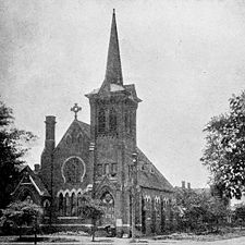 16th Street Baptist Church in 1884