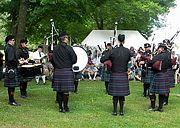 ISMPB at Glasgow Highland Games 2010