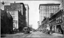 looking north on 20th Street North, c. 1910-11