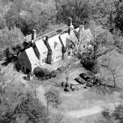 The Swann residence, photographed in 1993