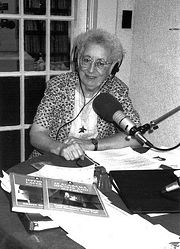 Kathryn Tucker Windham broadcasting on Alabama Public Radio in 1985