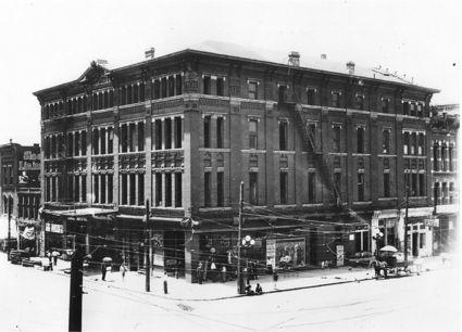Undated photo of O'Brien's Opera House