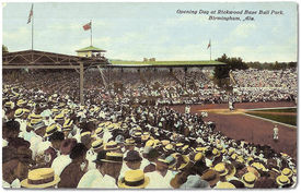 Opening day at Rickwood Field, August 18, 1910