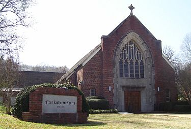 First Lutheran Church in February 2007