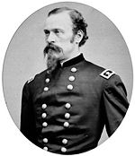 Major General James H. Wilson, commander of Wilson's Raid.