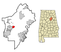 Odenville locator map.png