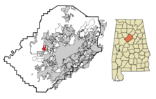 Maytown locator map.png