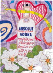 1991 Absolut Vodka ad by Coffelt