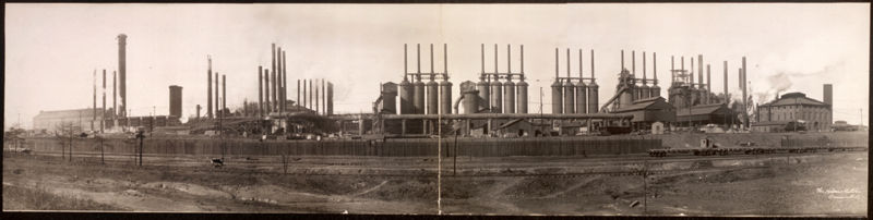 TCI's Ensley Works, c. 1909