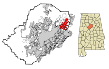 Trussville locator map.png