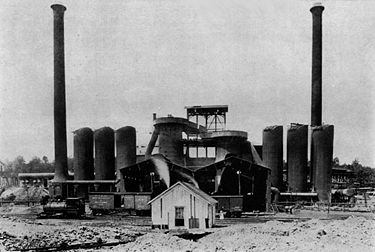 The Oxmoor Furnaces in 1885