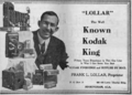 1923 Lollar ad.png