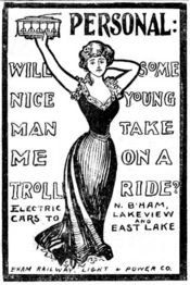 Advertisement for B.R.L.P. & Co.'s trolleys