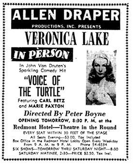 February 1951 newspaper advertisement