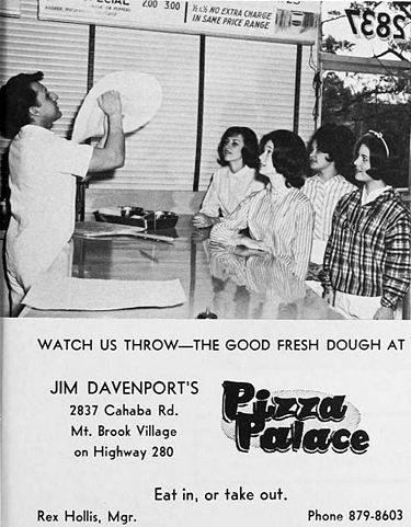 1965 advertisement for Jim Davenport's