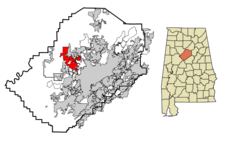 Adamsville locator map.PNG