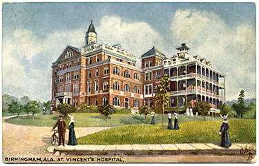 St Vincent's Hospital in 1910
