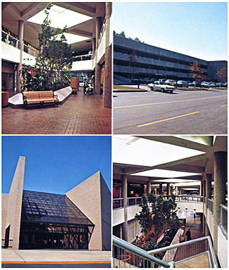 Photos from a 1975 Brookwood Village brochure