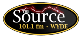 WYDE-FM The Source logo.png