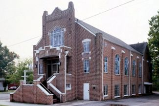 Bethel Baptist Church in 1993 (Jet Lowe for HABS)