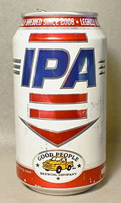 Can of Good People IPA, released March 2011
