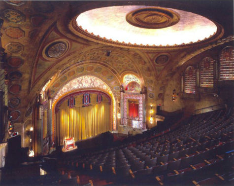 Interior of the Alabama Theatre after its recent resotration. Photograph by M. Lewis Kennedy.