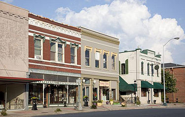 Downtown Cullman in 2010