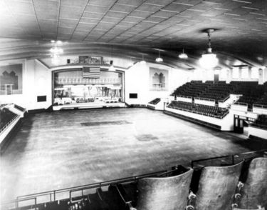 Interior of Boutwell Auditorium. Courtesy Birmingham Public Library