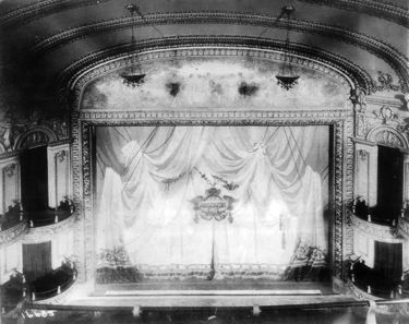 The auditorium of the Lyric on opening week