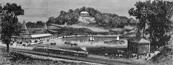 Lakeview Park, c. 1887
