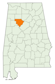 Location of Walker County
