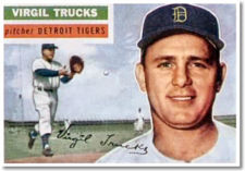 Virgil Trucks pitched two no-hitters in 1952